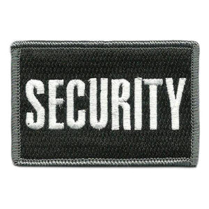 BuckUp Tactical Morale Patch Hook Security Patches 3x2""