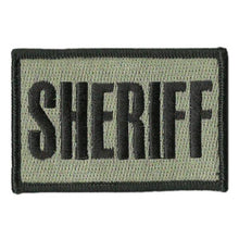 BuckUp Tactical Morale Patch Hook SHERIFF County PD Cop Patches 3x2""