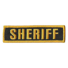 BuckUp Tactical Morale Patch Hook SHERIFF Morale County PD Cop Patches 3 3/4x1""
