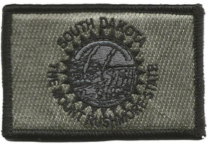 BuckUp Tactical Morale Patch Hook South Dakota Pierre State Patches 3x2""