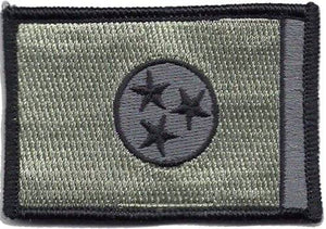 BuckUp Tactical Morale Patch Hook Tennessee Nashville State Patches 3x2""