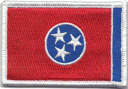 BuckUp Tactical Morale Patch Hook Tennessee Nashville State Patches 3x2