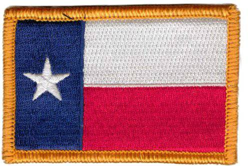 BuckUp Tactical Morale Patch Hook Texas Austin Houston Alamo State Patches 3x2