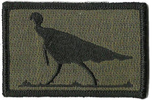BuckUp Tactical Morale Patch Hook Turkey Wildlife Hunting Patches 3x2""