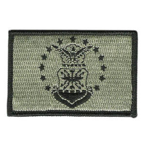 BuckUp Tactical Morale Patch Hook USAF US Airforce U.S.A.F. Seal Patches 3x2""