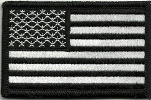 BuckUp Tactical Morale Patch HookUSA US Flag Forward Facing Patches 3x2""
