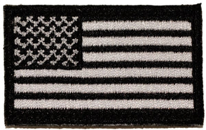 BuckUp Tactical Morale Patch Hook MINI USA US Flag Forward Facing Patches 2x1""