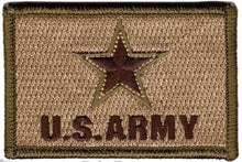 BuckUp Tactical Morale Patch Hook US Army Logo Patches 3x2""