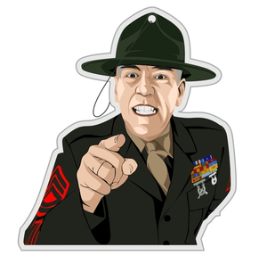 "R. LEE ERMEY ""GUNNY"" AIR FRESHENER"