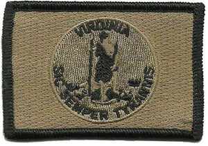BuckUp Tactical Morale Patch Hook Virginia Richmond State Patches 3x2""