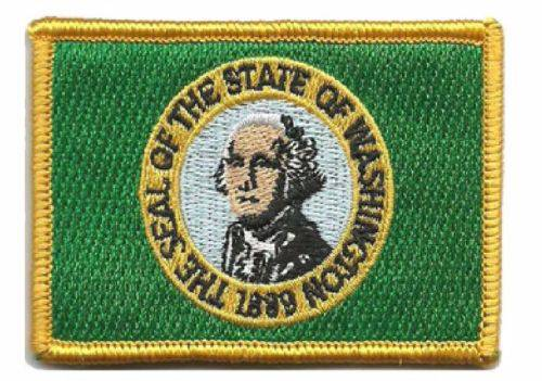 BuckUp Tactical Morale Patch Hook Washington Olympia State Patches 3x2