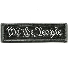 BuckUp Tactical Morale Patch Hook We The People Morale Patches 3.75x1""