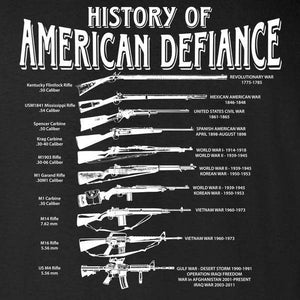 HISTORICAL RIFLE BLACK T-SHIRT S M L XL 2XL 3XL 4XL 5XL
