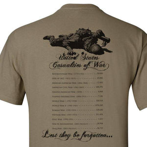 CASUALTiES OF WAR SHIRT S M L XL 2XL 3XL 4XL 5XL