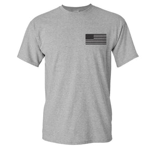 IWO JIMA ATHLETIC GREY T-SHiRT S M L XL 2XL 3XL 4XL 5XL
