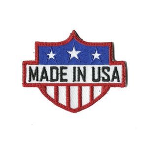 "MADE IN USA MORALE PATCH Patches 3x2"" Sized"