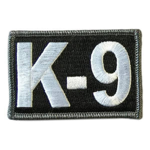 "BuckUp Tactical Morale Patch Hook K9 K-9 Sheriff PD Police Patches 3x2"" Sized"