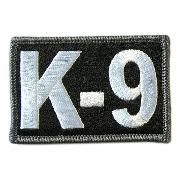 BuckUp Tactical Morale Patch Hook K9 K-9 Sheriff PD Police Patches 3x2