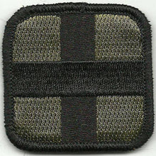 BuckUp Tactical Morale Patch Hook Medic Cross EMT Patches 2""