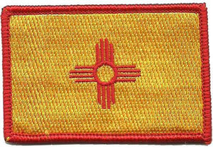 BuckUp Tactical Morale Patch Hook New Mexico Santa Fe State Patches 3x2""