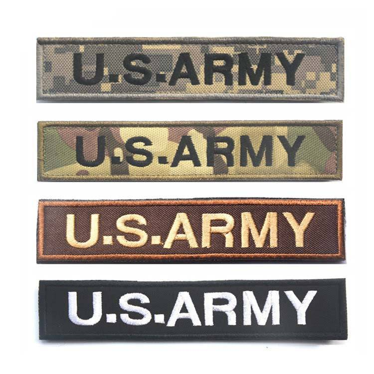 U.S.ARMY Tactical Military Patch Velcro