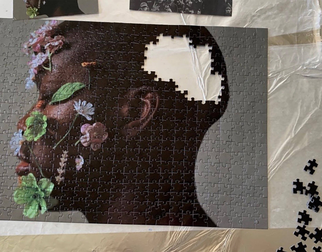 Flower Portrait Fine Art Puzzle