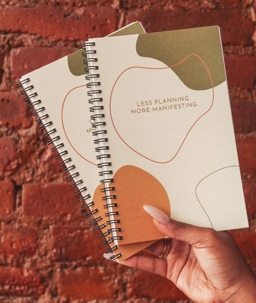 The perfect journal to begin manifesting the life you deserve. Lined or unlined page option, 100 pages.