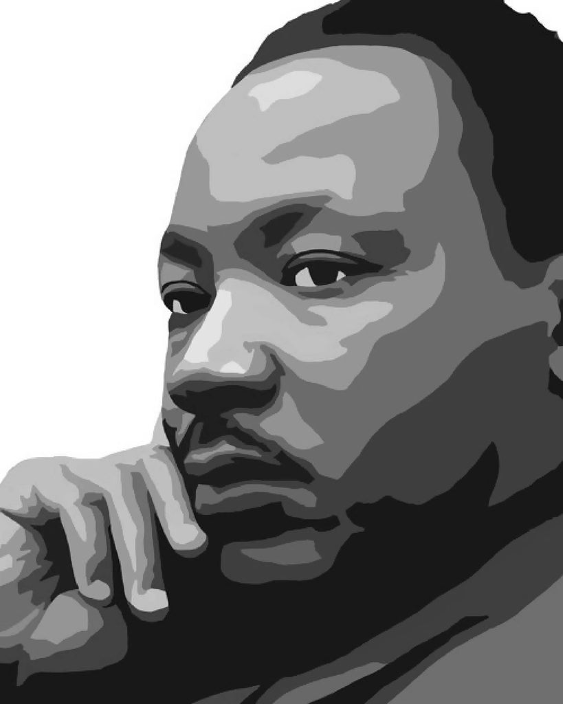 Martin Luther King Jr. Paint By Number Art Kit option