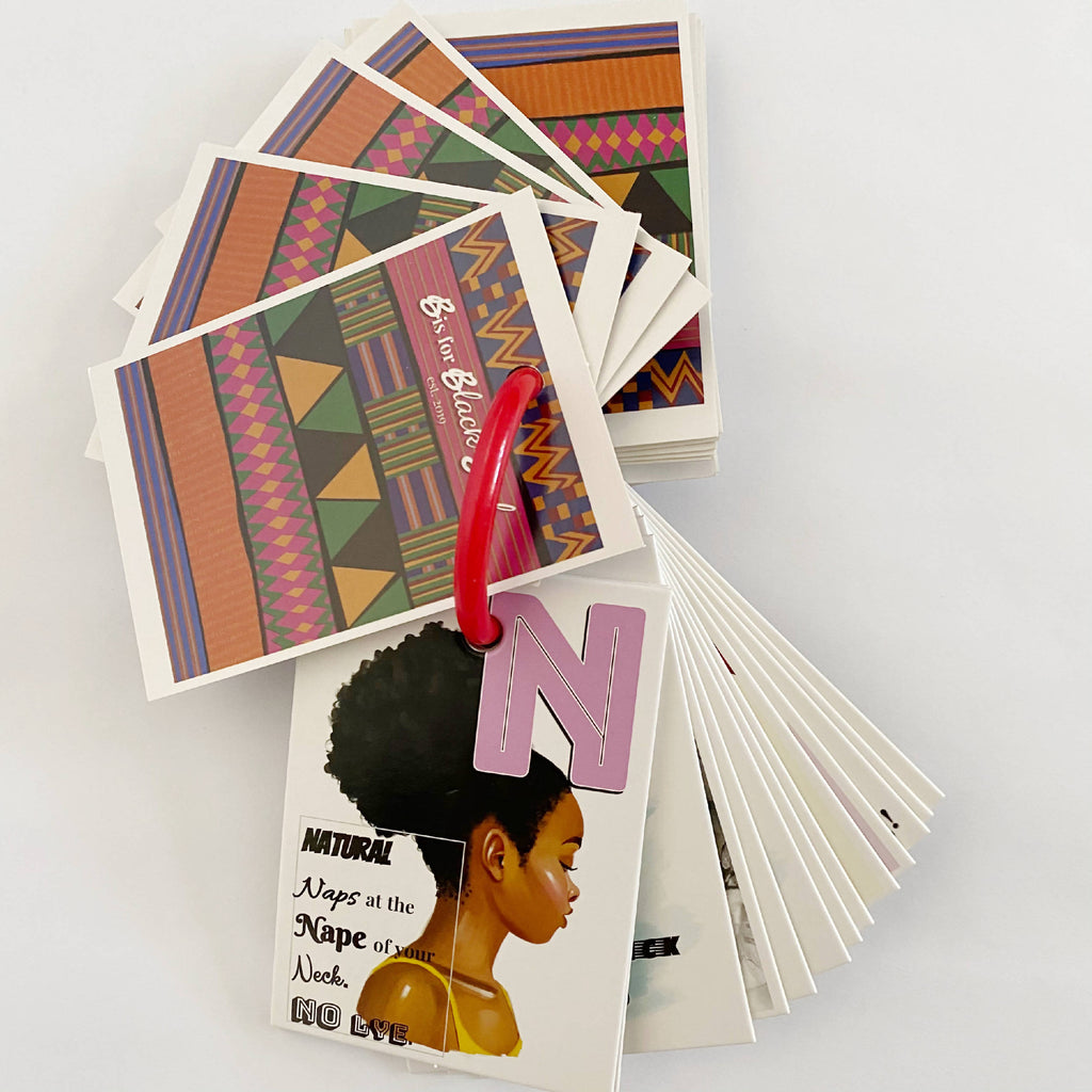 B is for Black Girl Flashcards