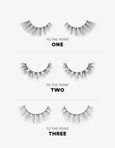 To The Point False Lashes / 3 Sizes