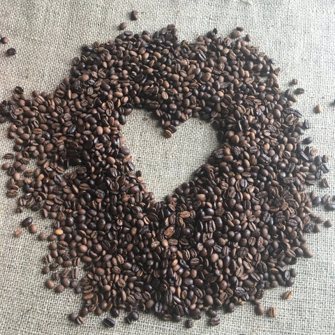 Image of Heart in Coffee