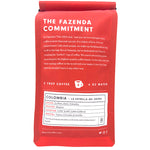 Colombia La Estrella del Ostro Medium Roast Coffee - Back Picture