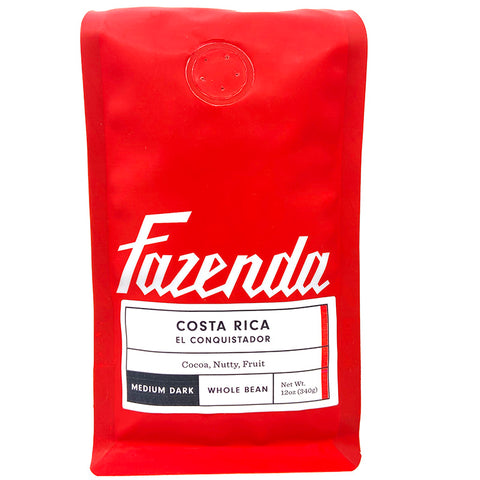 Costa Rica El Conquistador Medium Roast Coffee - Front Picture