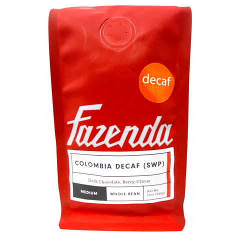 Colombia Decaf Medium Roast Coffee - Front Picture