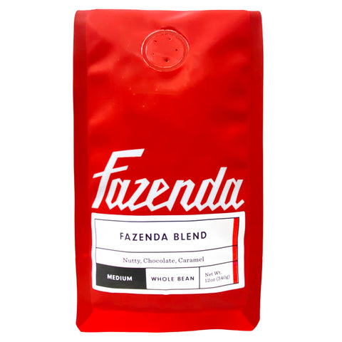 Fazenda Blend Medium Roast Coffee - Front Picture