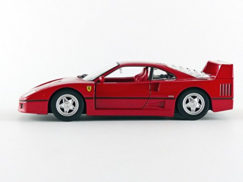 1:24 Scale Race and Play of The Ferrari F40 Sports Car Die-Cast