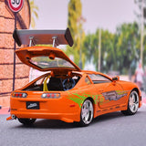 trunk open rear of car 1:24 1995 Toyota Supra Fast and Furious 8