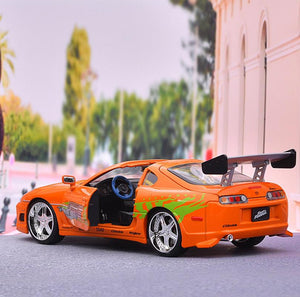 driver side door open rear of car 1:24 1995 Toyota Supra Fast and Furious 8