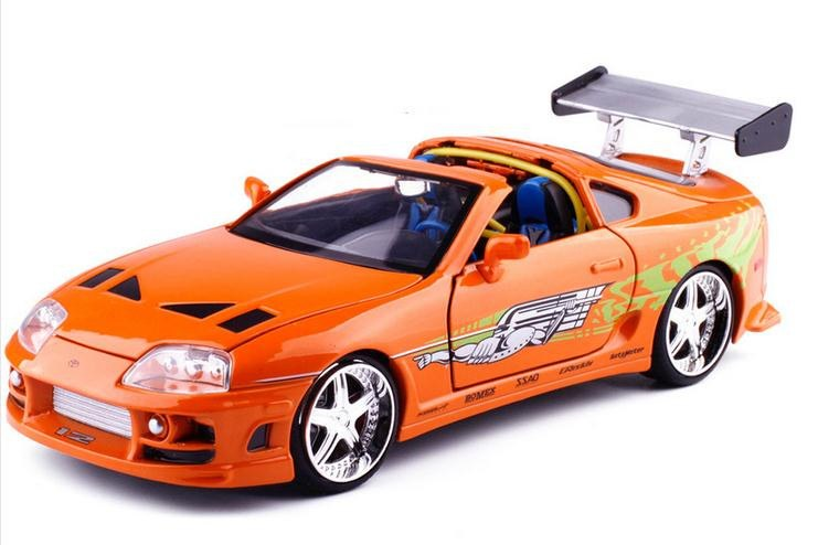 driver side of 1:24 1995 Toyota Supra Fast and Furious 8