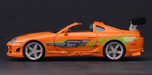 driver side full shot 1:24 1995 Toyota Supra Fast and Furious 8