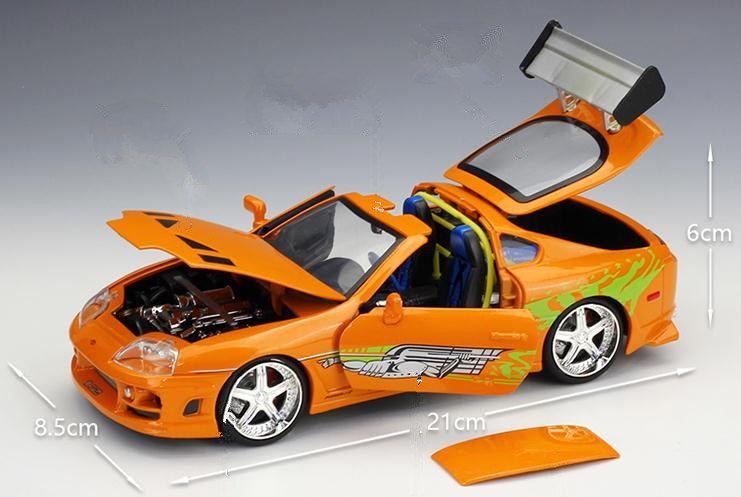 showing removable roof 1:24 1995 Toyota Supra Fast and Furious 8