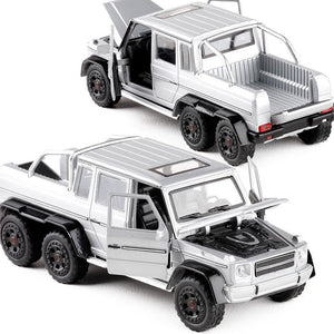 1:32 G63 Pickup Truck Pull Back Alloy Car