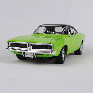 1969 Dodge Charger RT neon green front picture