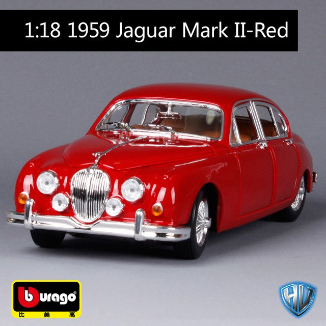 1:18 1959 Jaguar Mark 2 Die-Cast