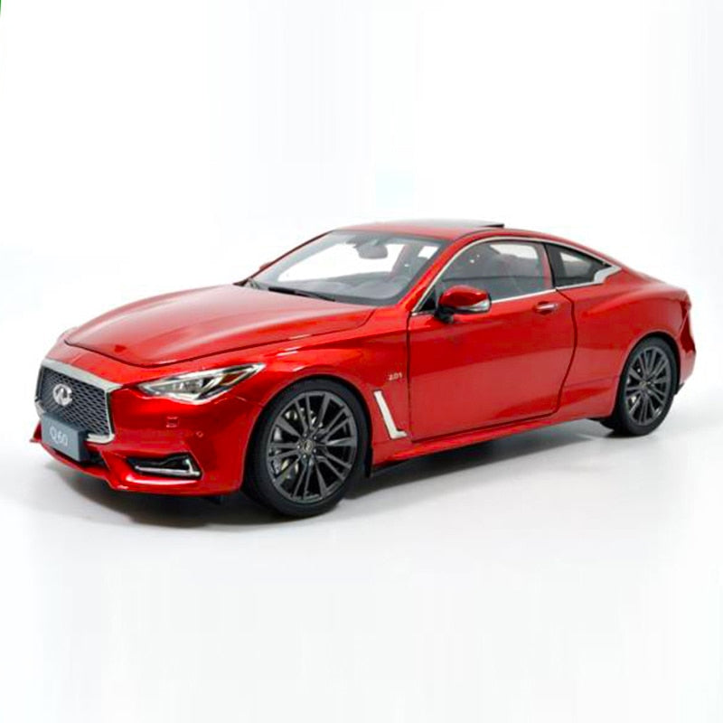 1:18 2018 Infiniti Q60 Coupe Die-Cast