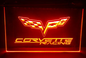 Chevrolet Corvette 3D LED Lamp
