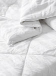 100% Silk duvet, King, 250gsm, Summer weight