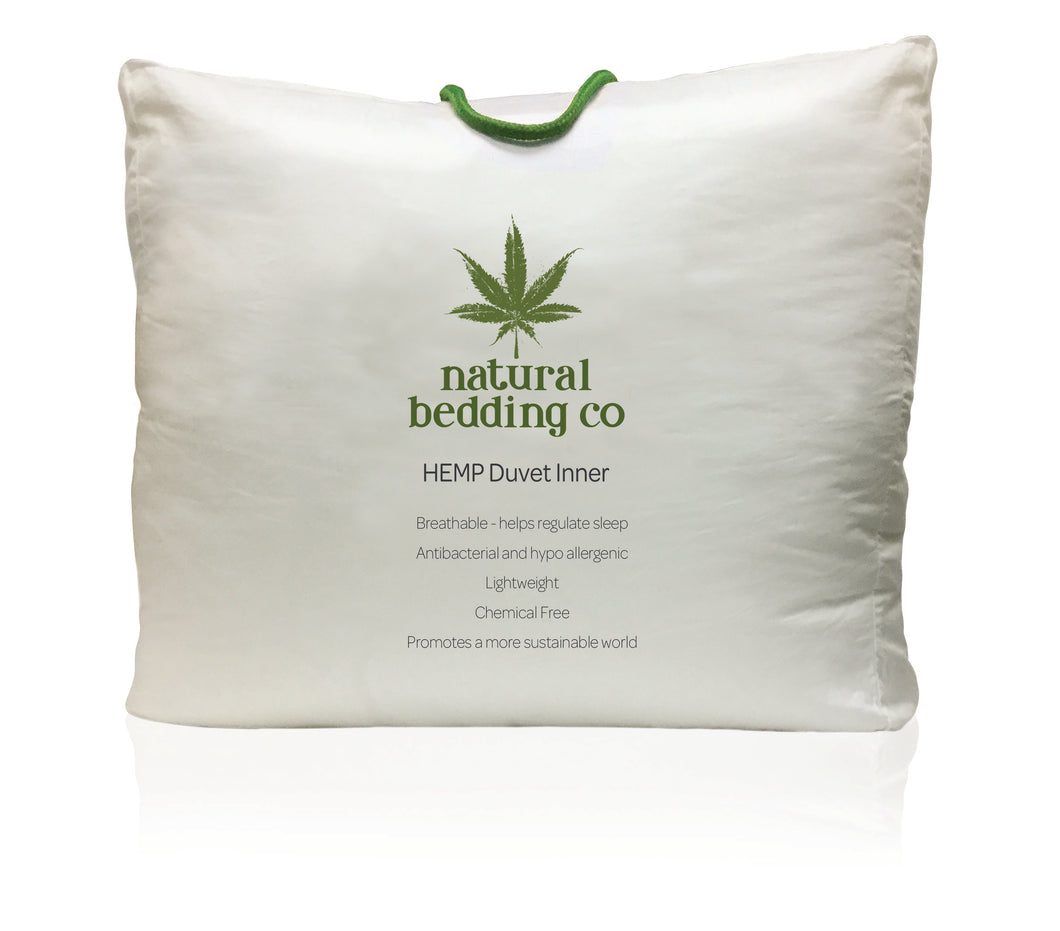 Winter weight 100% HEMP duvet,  500gsm,  AUSTRALIAN SUPER KING