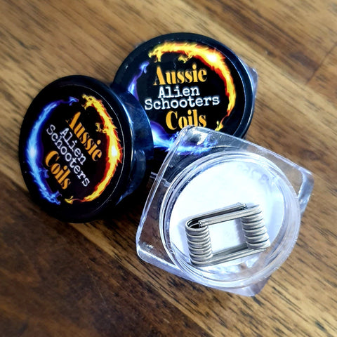 Hand made Aussie Coils - Alien Schooters - Australia DIY Vape Coils for RDA and RTA
