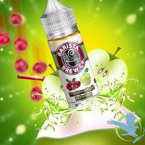 Cranberry Apple Refresher Barista Brew Co e-liquid
